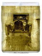 1918 - Hupmobile Automobile Advertisement - Color Duvet Cover