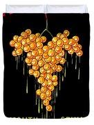 1919 - Conzano Vermouth Advertisement Poster - Color Duvet Cover