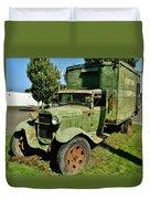 1920s Ford Moving Truck Duvet Cover