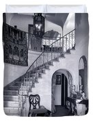 1920s Upscale Home Entry With Spiral Duvet Cover