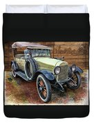 1921 Hudson-featured In Vehicle Enthusiasts And Comfortable Art And Photography And Textures Groups Duvet Cover