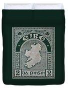 1922 Ireland Eire Stamp Duvet Cover