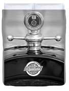 1922 Studebaker Touring Hood Ornament 3 Duvet Cover
