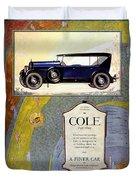 1923 - Cole 890 - Advertisement - Color Duvet Cover
