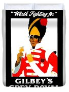 1924 - Gilbey Spey-royal Whisky Advertisement - Color Duvet Cover