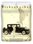 1924 - Rickenbacker Automobile Advertisement Duvet Cover