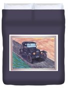 1924' Ford Model-t Touring Duvet Cover