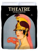 1924 - Theatre Magazine Cover - Color Duvet Cover
