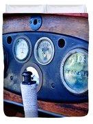1925 Stutz Series 695h Speedway Six Torpedo Tail Speedster Dashboard Instruments Duvet Cover