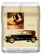 1926 - Packard Automobile Advertisement - Color Duvet Cover