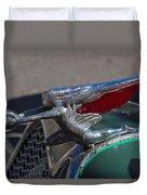 1926 Rat Rod Hood Ornament Duvet Cover