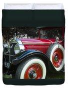 1928 Hupmobile Century Model E4 4 Door Sedan Duvet Cover