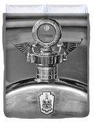 1928 Pierce-arrow Hood Ornament 2 Duvet Cover