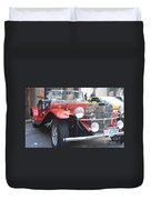 1929 Mercedes Benz Front And Side View Duvet Cover