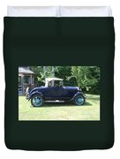 1929 Model-a Roadster 4 Duvet Cover