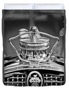 1929 Packard 8 Hood Ornament 4 Duvet Cover