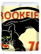 1930 - Brookfield Zoo Poster - Boston - Color Duvet Cover