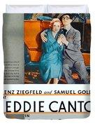 1930 - Whoopee - Movie Poster - Eddie Cantor - Florenz Ziegfield - Samuel Goldwyn - Color Duvet Cover