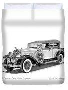 1931 Cadillac Phaeton Duvet Cover