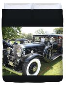 1930 Cadillac V-16 Imperial Limousine Duvet Cover