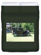 1930 Model-a Town Car 1 Duvet Cover