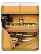 1930 Packard Speedster Runabout Engine -0539c Duvet Cover