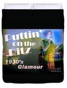 1930's Glamour Duvet Cover