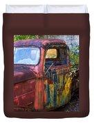 1930s Pickup Truck Duvet Cover