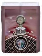 1931 Alfa-romeo Hood Ornament Duvet Cover
