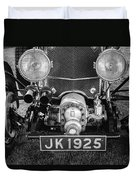 1931 Bentley 4.5 Liter Supercharged Le Mans Grille Duvet Cover