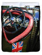 1931 Bentley 4.5 Liter Supercharged Le Mans Steering Wheel -1255c Duvet Cover