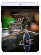 1931 Chevrolet Emblem Duvet Cover