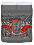 1931 Chevy Roadster Convertible Duvet Cover