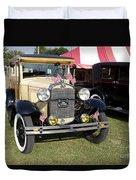 1931 Ford Model-a Car Duvet Cover