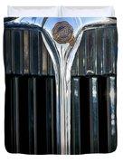 1932 Chrysler Hood Ornament Duvet Cover