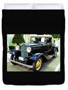1932 Ford Cabriolet Duvet Cover