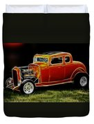 1932 Ford Fenderless Coupe Duvet Cover