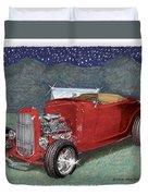 1932 Ford High Boy Duvet Cover