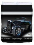 1932 Ford Highboy Roadster Duvet Cover