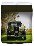 1932 Frontenac 6-70 Sedan  Duvet Cover