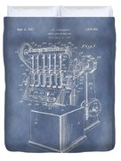 1932 Machine Patent Duvet Cover