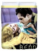 1933 - After Tonight Motion Picture Poster - Constance Bennet - Gilbert Roland - Color Duvet Cover