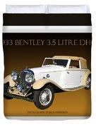 Bentley Derby D H C  Duvet Cover