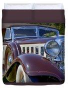 1933 Chrysler Imperial - Cl Phaeton Duvet Cover