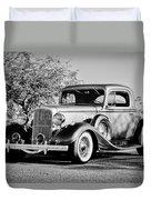 1933 Pontiac -0011bw Duvet Cover
