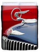 1933 Pontiac Street Rod Hood Ornament Duvet Cover