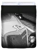 1934 Ford Hot Rod Duvet Cover