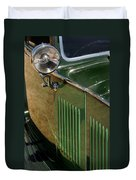 1934 Green Rolls Duvet Cover