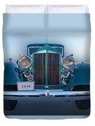 1934 Packard Super 8 Duvet Cover