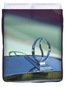 1934 Studebaker Hood Ornament Duvet Cover